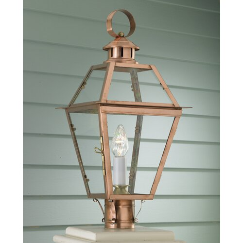 Norwell Lighting Old Colony 1 Light Outdoor Post Lantern