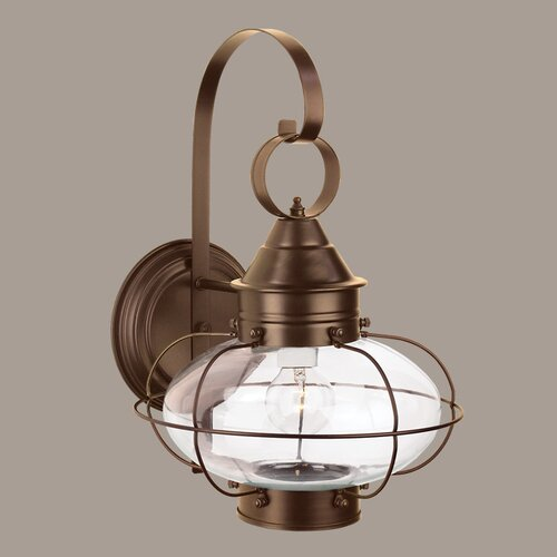 Norwell Lighting Cottage Onion 1 Light Wall Sconce & Reviews Wayfair