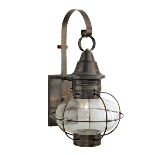 Norwell Lighting New Vidalia Onion Large 1 Light Outdoor Wall Lantern