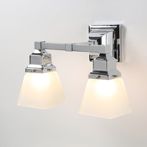 Norwell Lighting Birmingham 2 Light Bath Vanity Light