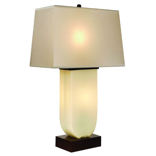 "Trend Lighting Corp. Aramis 32"" H Table Lamp with Rectangle Shade"