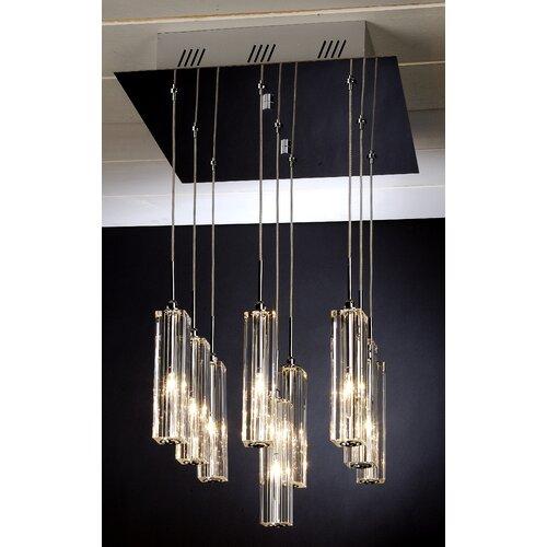 Trend Lighting Corp. Diamante 9 Light Pendant