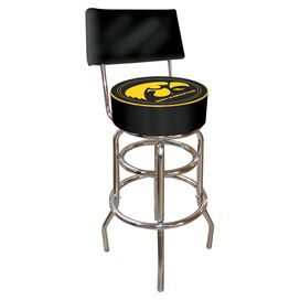 Hawkeyes Barstool with Back