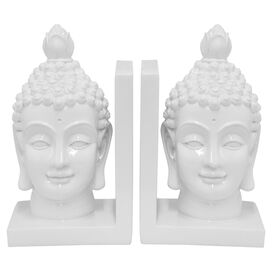 Buddha Head Bookend