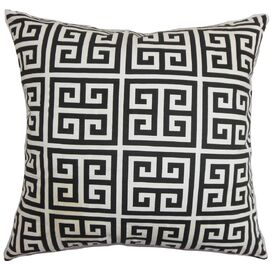 Neil Diamond Turquoise Throw Pillow