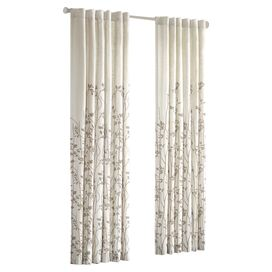 Sheer Solid Voile Rod Pocket Curtain Panel