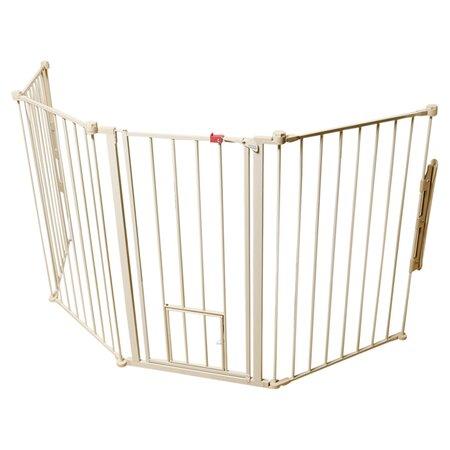 Flexi Pet Gate in White