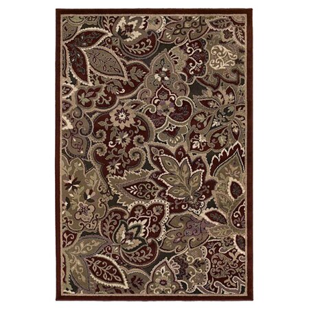 Concepts Marrakech Red & Brown Rug
