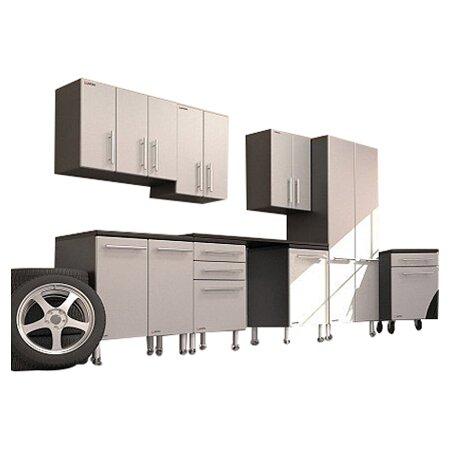 Garage PRO 9 Piece Deluxe Storage System in Gray