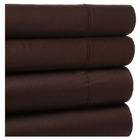 4 Piece Sheet Set in Mocha