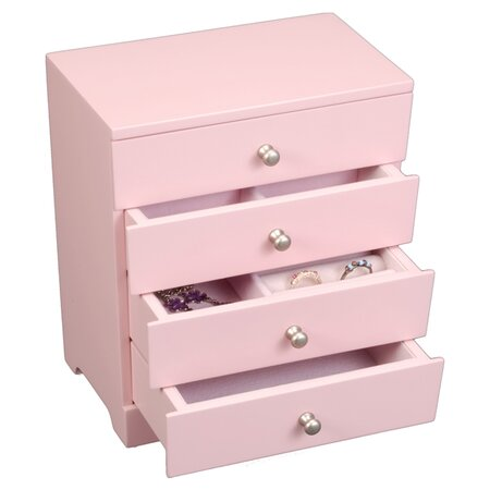Jewelry Box in Pink