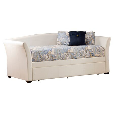 Birmingham Twin Trundle Daybed in White