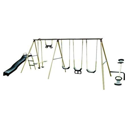 Fun Fantastic Swing Set in Beige