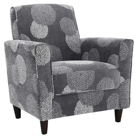 Enzo Sunflower Chair in Charcoal