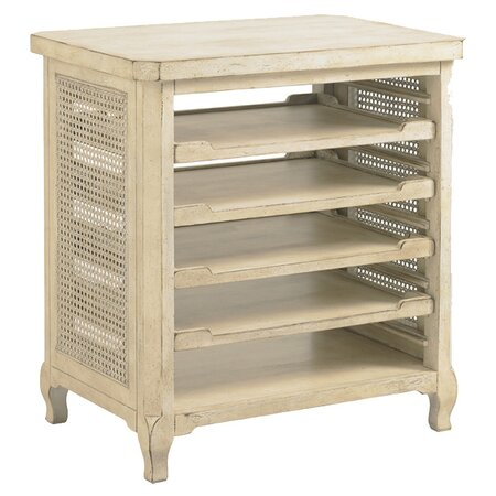 Olivia End Table in White