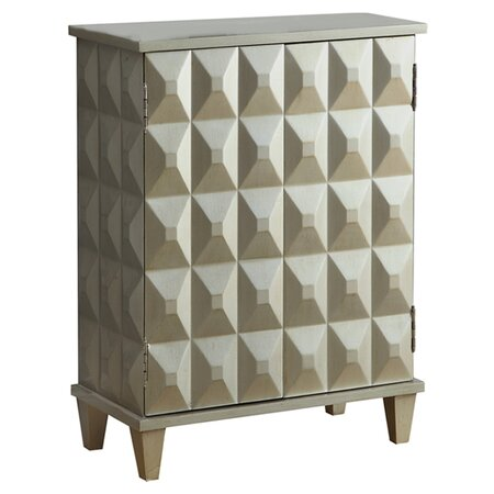 Bombay Cabinet in Silver
