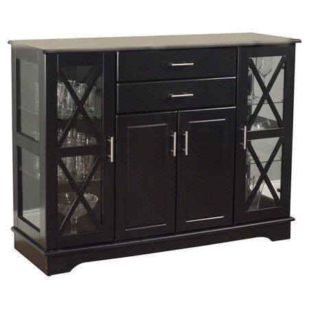Aria Buffet Table in Black