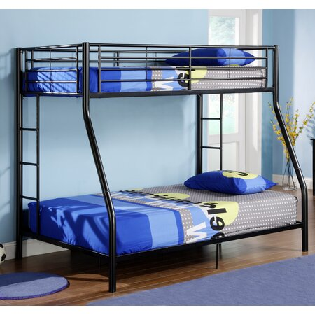 Sunrise Twin Over Full Bunk Bed in Black