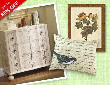 Natural Beauty: Furniture & Decor