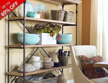 Rustic Dining Room Storage