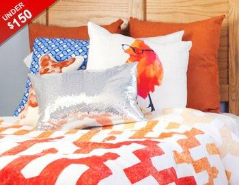 Bright Bedroom Under $150