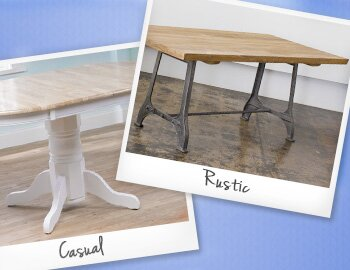 Find Your Style: Dining Tables