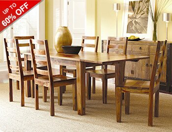 Rustic & Reclaimed Dining Room