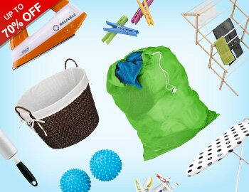 Sort, Store, Style: Laundry Solutions