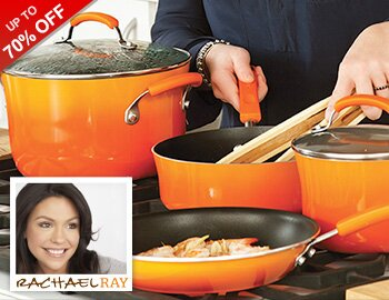 Colorful Cookware by Rachael Ray