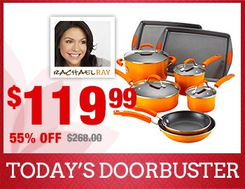 Rachael Ray 12-Piece Cookware Set