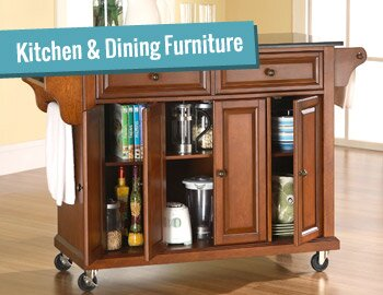 Kitchen Carts, Dining Sets & More