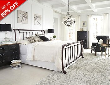 Look We Love: Black & White Bedroom