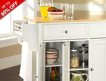 Kitchen Carts & Storage Solutions