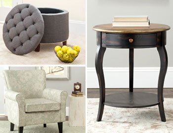 Top-Selling Accent Tables, Chairs & More