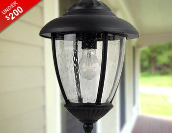 Outdoor Lighting Under $200
