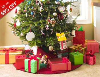 Best-Selling Faux Trees & Wreaths
