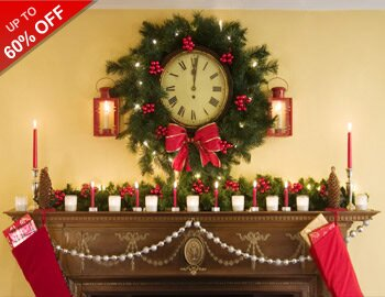 Holiday Headstart: Mantel Decor