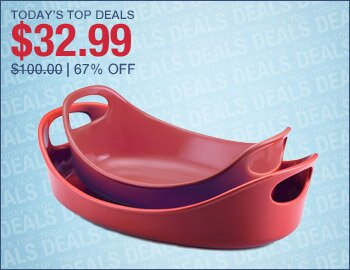 Rachael Ray 2-Piece Baker Set