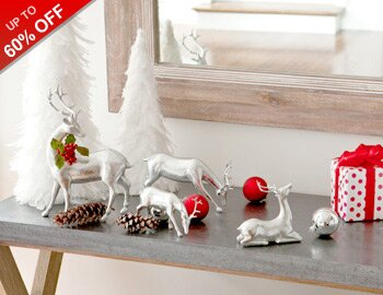 White Christmas: Chic Decor