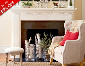 Winter Whites: Furniture & Decor