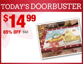 Festive Holiday Doormat