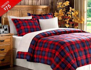 Festive Flannels, Pillows & More