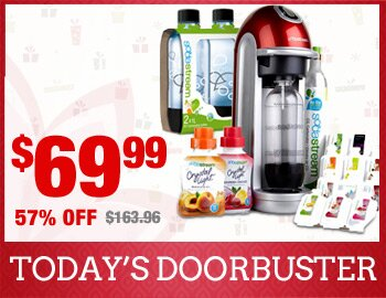 Exclusive SodaStream Fizz Bundle