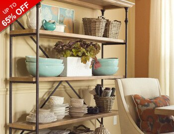 Rustic Dining Storage & Decor