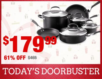 Circulon Nonstick 10-Piece Set