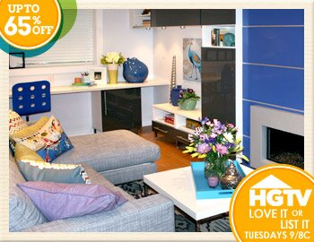 HGTV Shop: Colorful, Casual & Comfortable