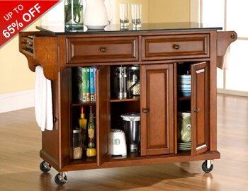 Kitchen Carts & Stylish Storage