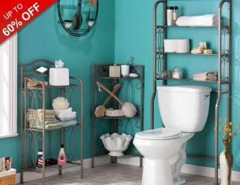 Bathroom Boost: Storage & More
