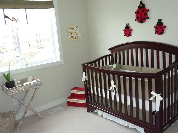 Contemporary Nursery photo by Willow Tree Interiors