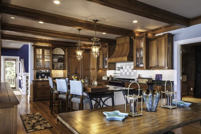 Traditional Kitchen photo by Interiors by Paul Chaisson